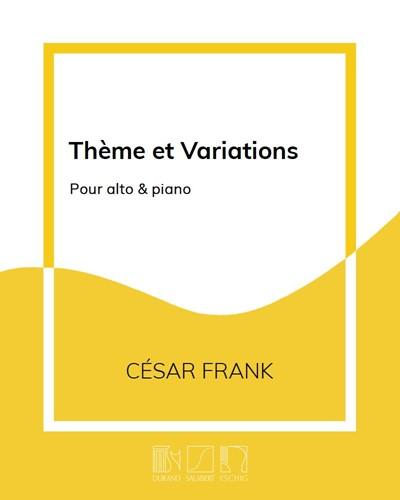 Thème et Variations