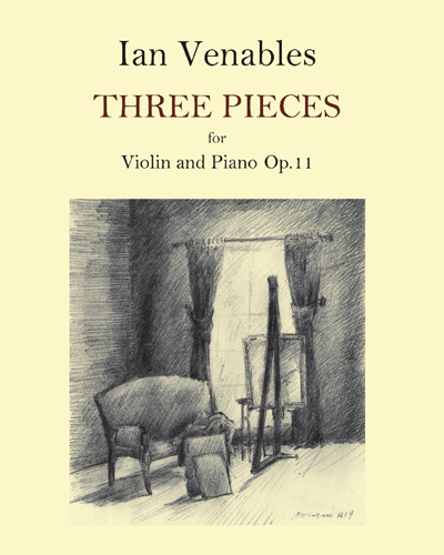 Three Pieces for Violin and Piano, Op. 11