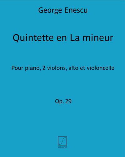 Quintette en La mineur