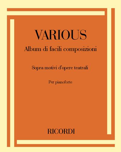 Album di facili composizioni - Sopra motivi d'opere teatrali
