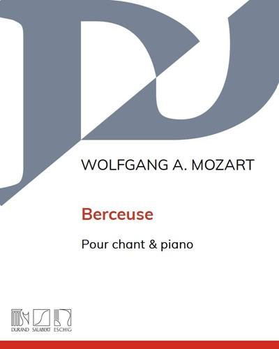 Berceuse - Pour chant & piano