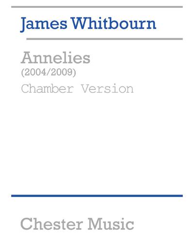 Annelies [Chamber Version 2009]
