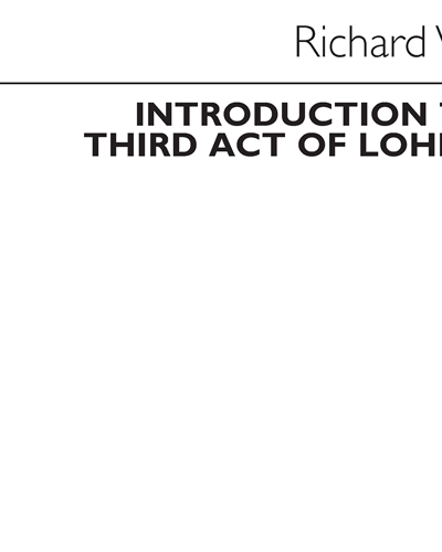 Introduction to the Third Act of Lohengrin