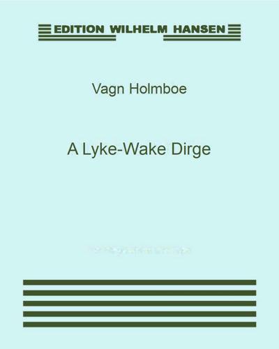 A Lyke-Wake Dirge