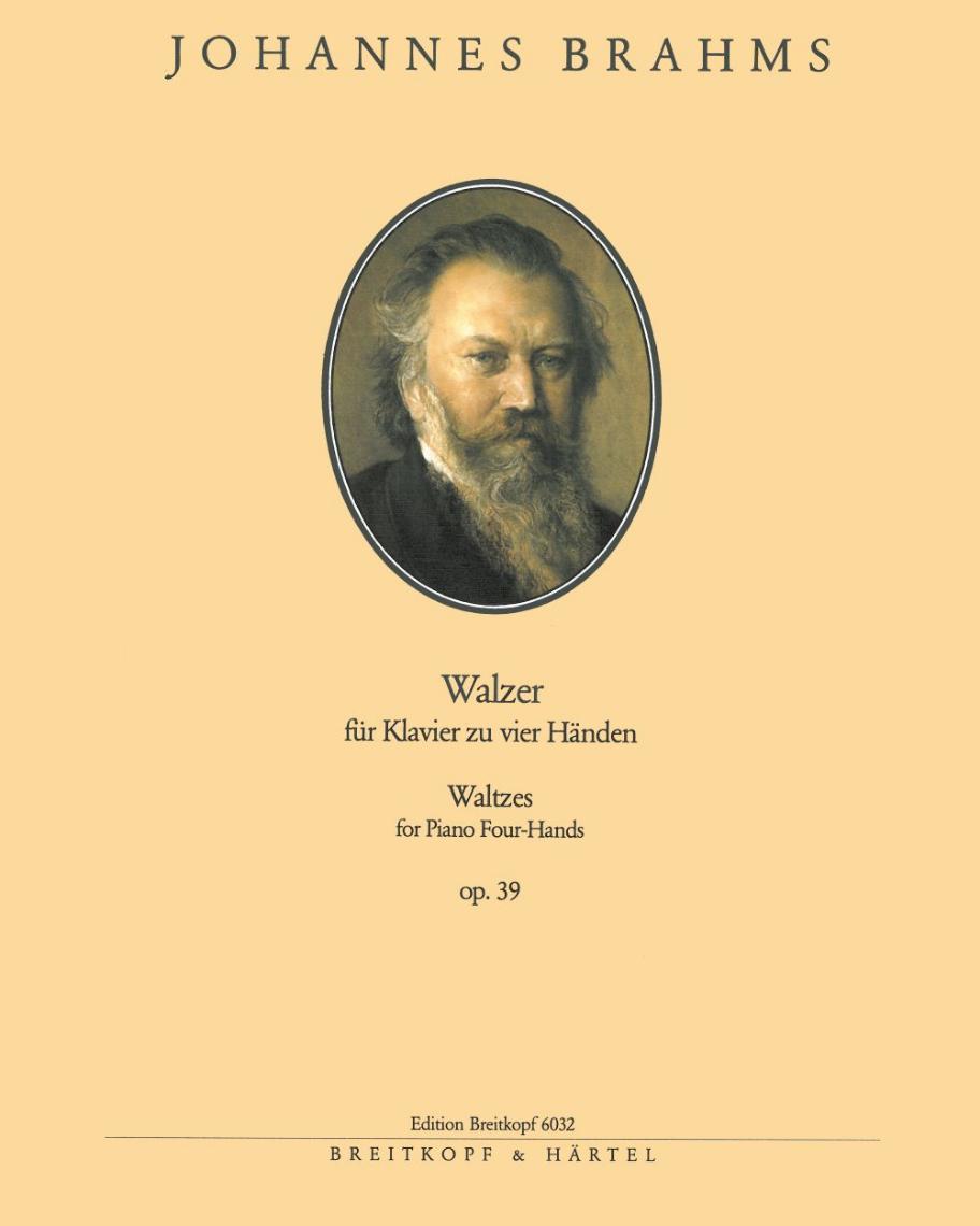 16 Walzer op. 39 (Ausgabe für Klavier zu vier Händen)