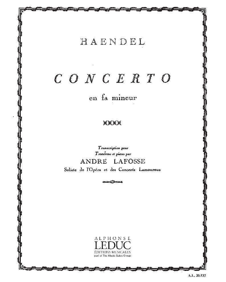 Concerto en Fa mineur