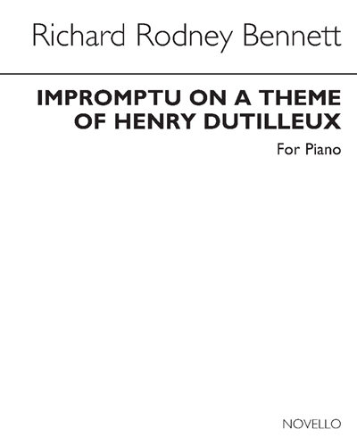 Impromptu on a Theme of Henry Dutilleux