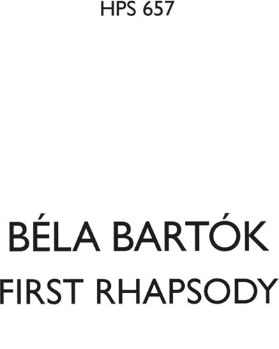 Rhapsody No. 1