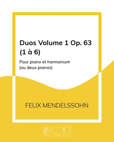 Duos Volume 1: Op. 63 (1 à 6)