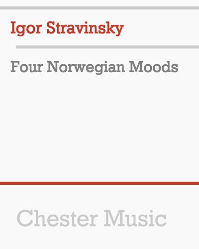 Four Norwegian Moods