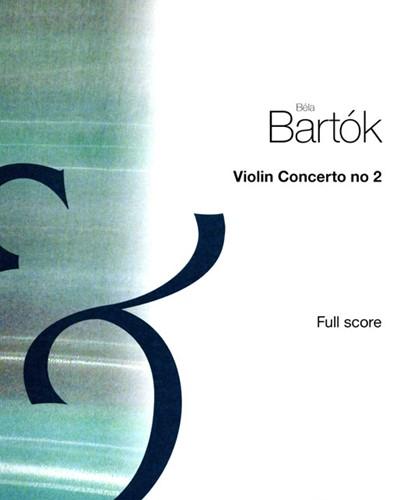 Violin Concerto No. 2, Sz. 112