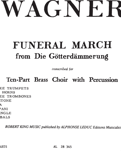 Funeral March No. 106 (from Die Götterdämmerung)