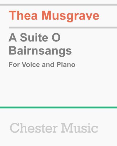 A Suite O Bairnsangs