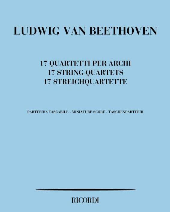 17 quartetti per archi