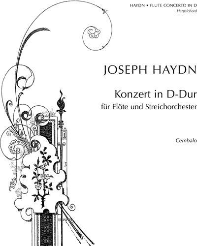Flute Concerto in D major, Hob. VII/D1