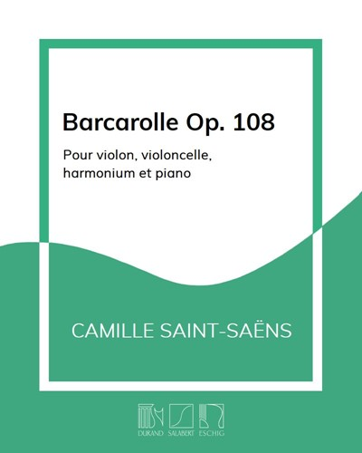 Barcarolle Op. 108
