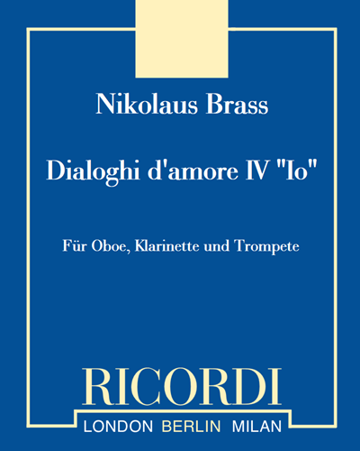 "Dialoghi d'amore IV ""Io"""