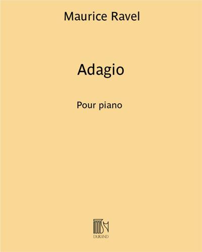"Adagio (extrait du ""Concerto en Sol"")"