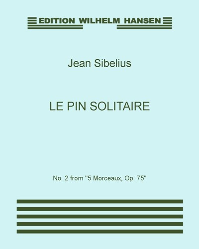 Le pin solitaire