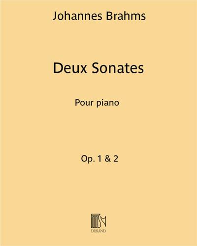 Deux Sonates Op. 1 & 2