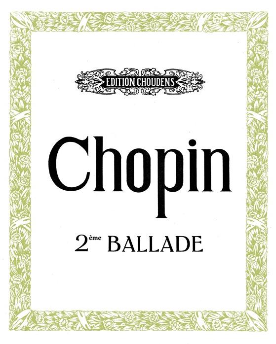 Ballade No. 2 En Fa Majeur, Op. 38