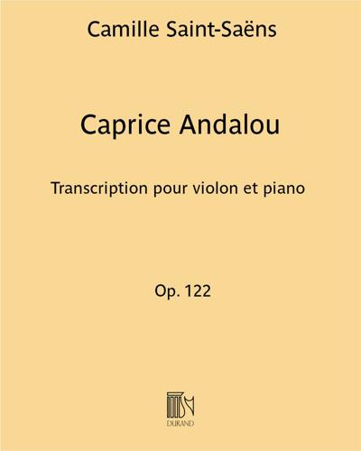 Caprice Andalou Op. 122