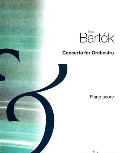 Concerto for Orchestra, Sz. 116 [Transcription for Piano]