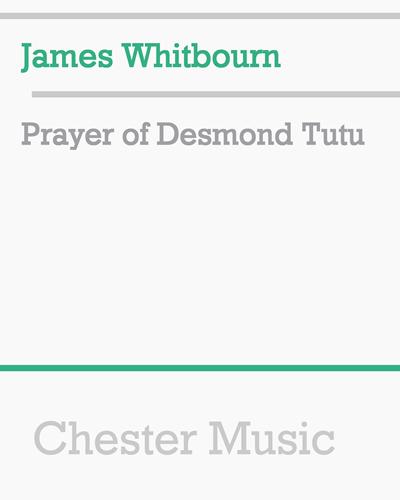 Prayer of Desmond Tutu