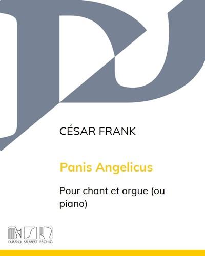 Panis Angelicus - Pour baryton ou mezzo-soprano et orgue (ou piano)