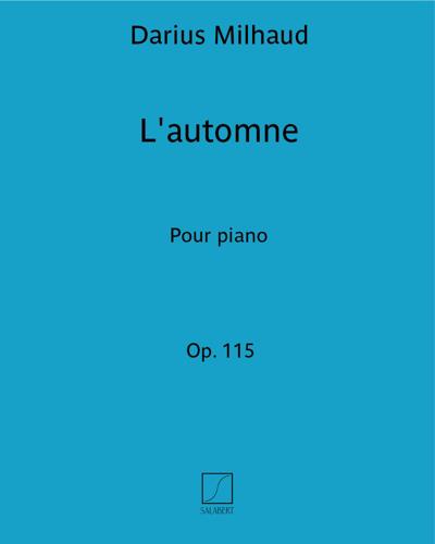L'automne Op.115
