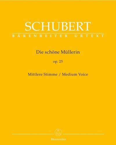 Die schöne Müllerin op. 25 D 795