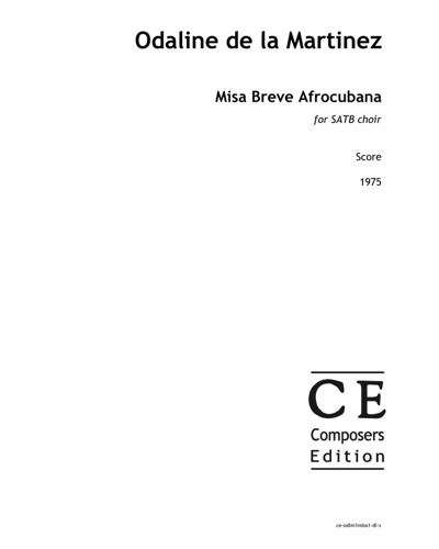 Misa Breve Afrocubana