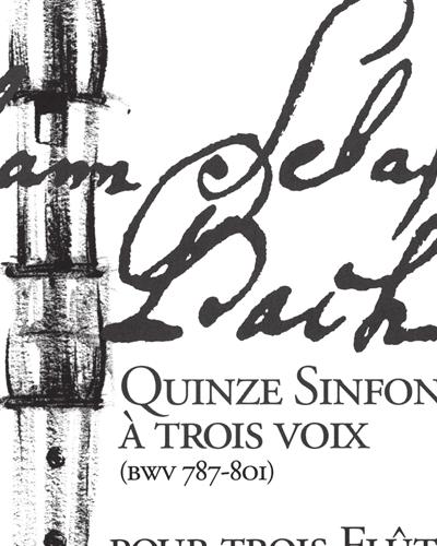 15 Sinfonias à 3 Voix (BWV 787-801), Vol. 2