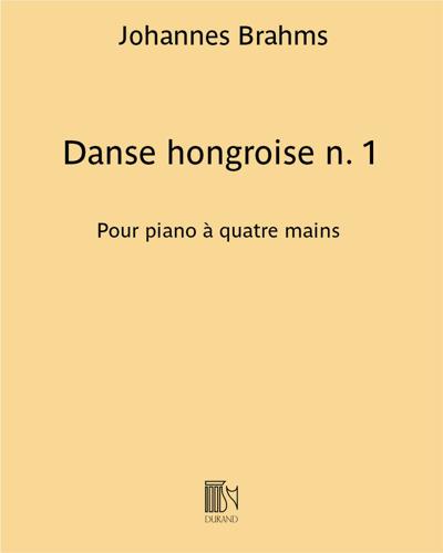 Danse hongroise n. 1