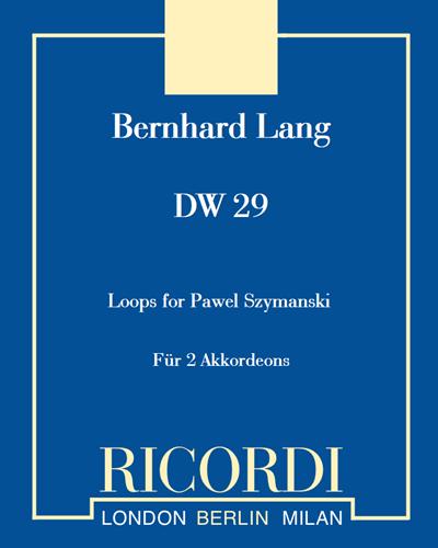 "DW 29 ""Loops for Pawel Szymanski"""