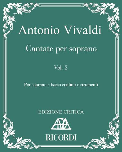 Cantate per soprano Vol. 2