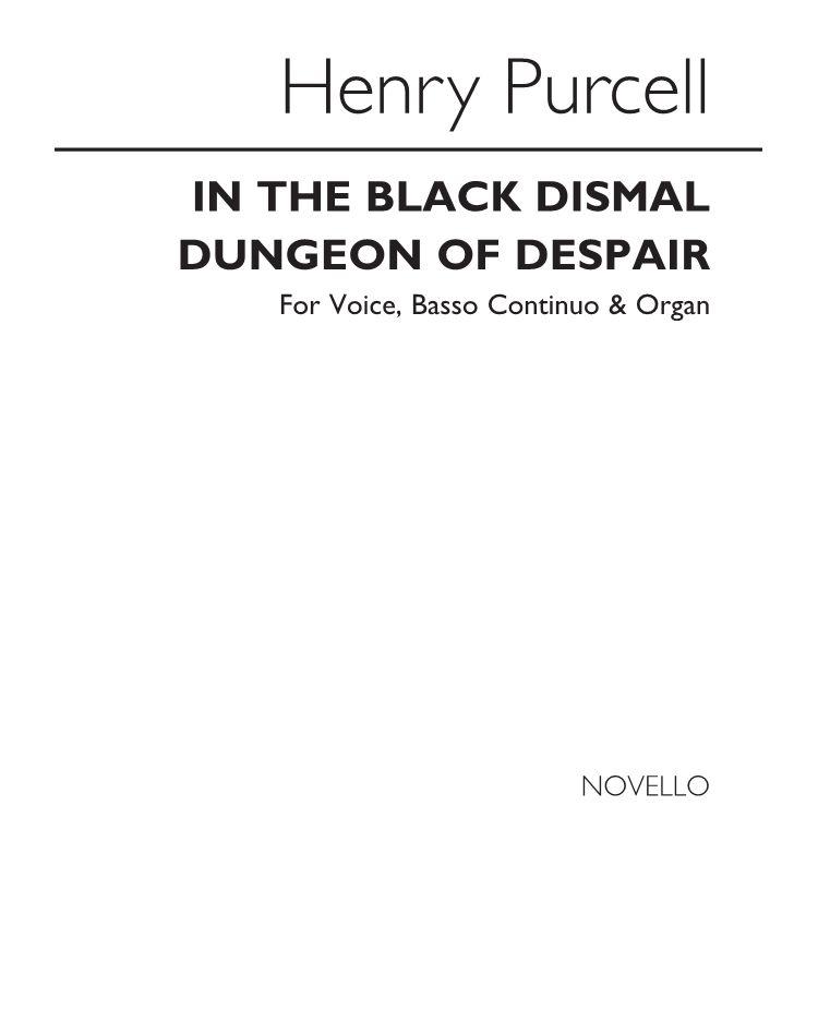 In the black, dismal dungeon of Despair
