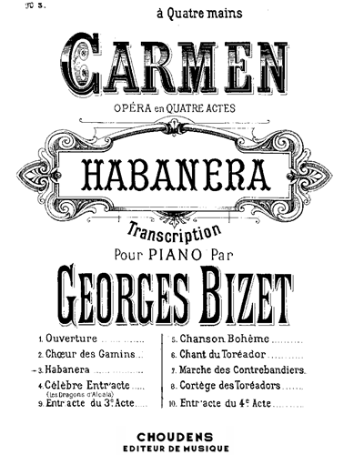"Habanera (No. 3 from ""Carmen"")"