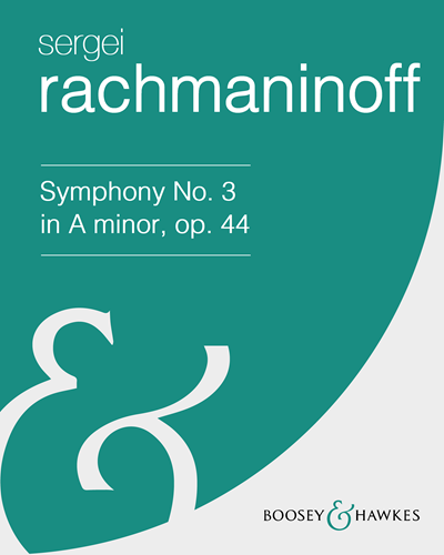 Symphony No. 3 in A minor, op. 44 [Revised Version]