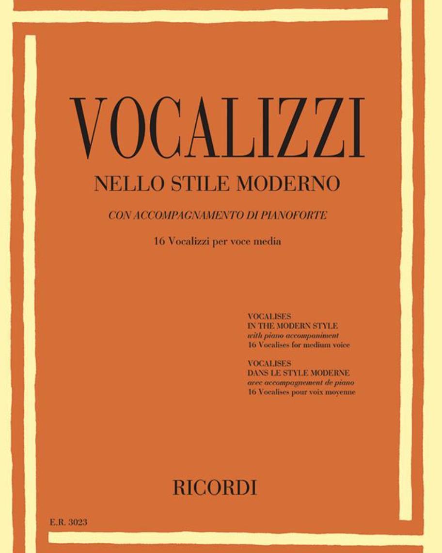 16 Vocalizzi nello stile moderno