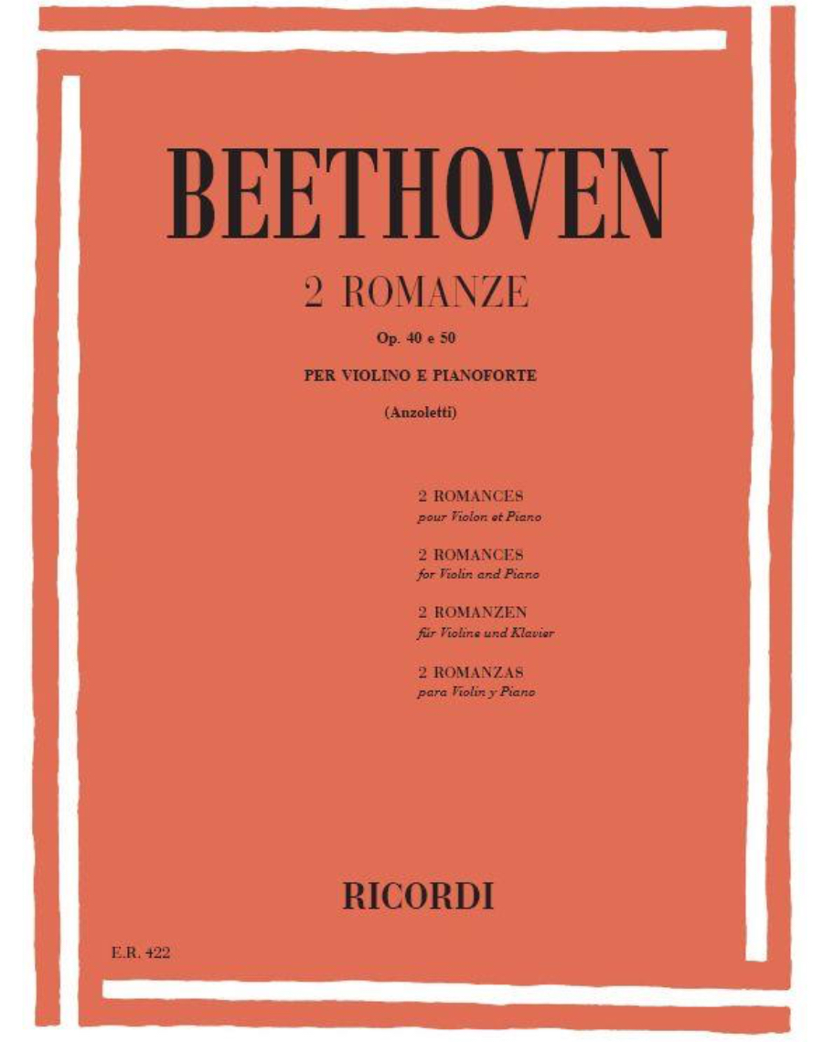 2 Romanze Op. 40 e 50