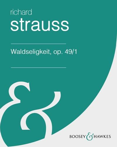 Waldseligkeit, op. 49/1 (in G-flat)