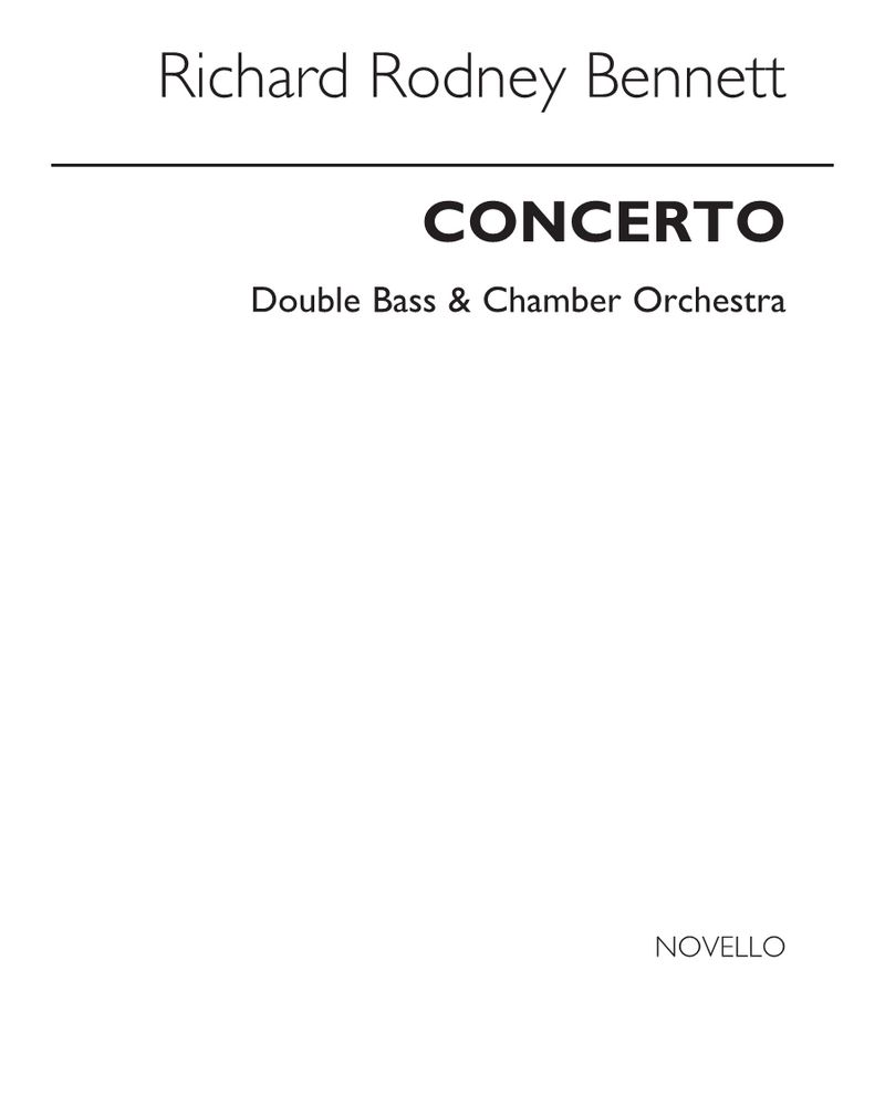 Double Bass Concerto