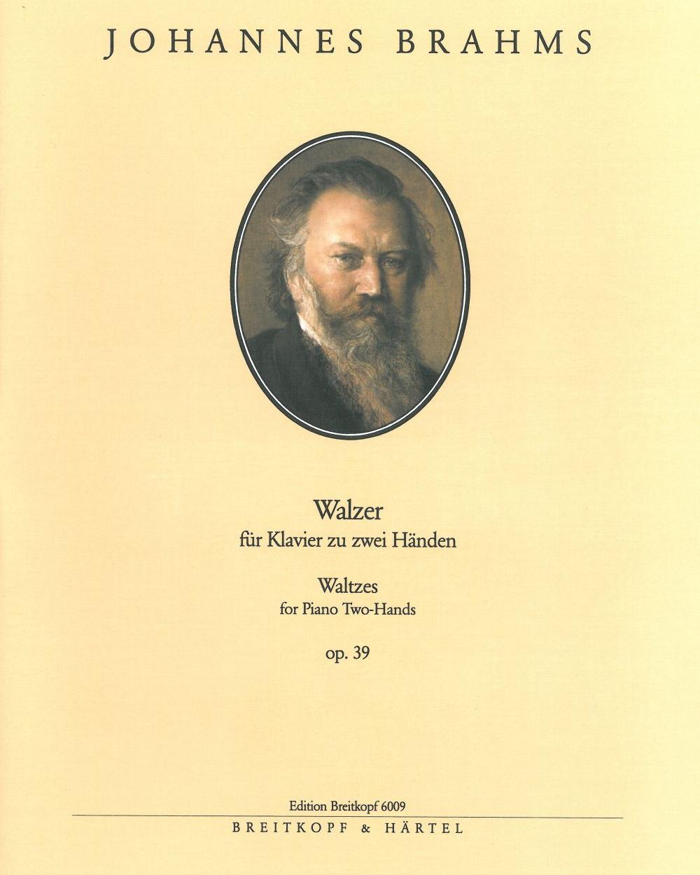 16 Walzer op. 39 (Ausgabe für Klavier zu zwei Händen)