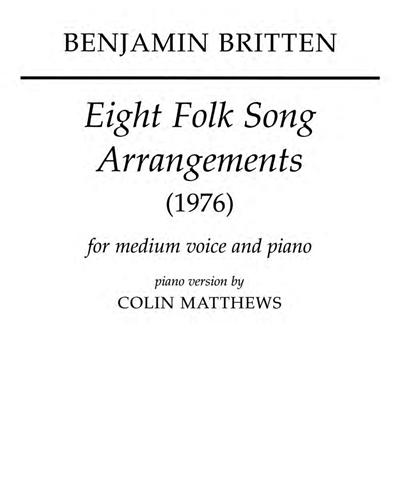 Eight Folk Song Arrangements