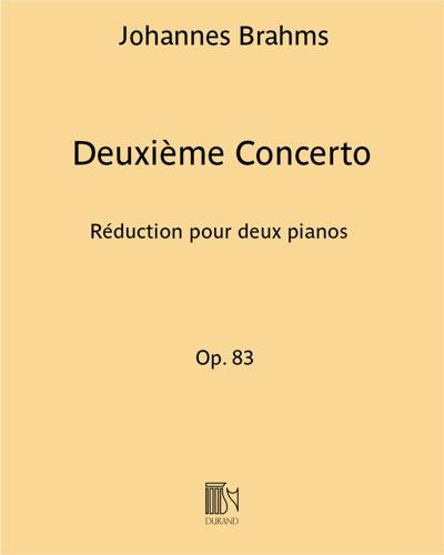 Deuxième Concerto Op. 83
