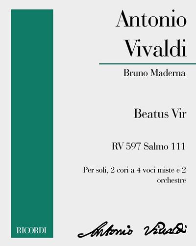 Beatus Vir RV 597 Salmo 111