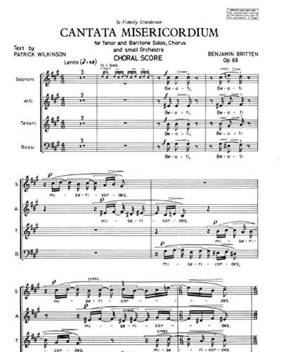 Cantata Misericordium