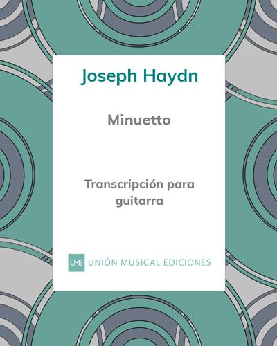 Minuetto (de la Sonata n° 3)
