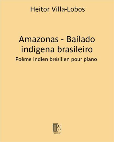 Amazonas - Baílado indigena brasileiro